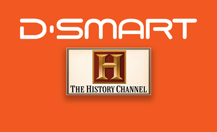 The HISTORY®️ Channel Türkiye Artık D-Smart'ta!